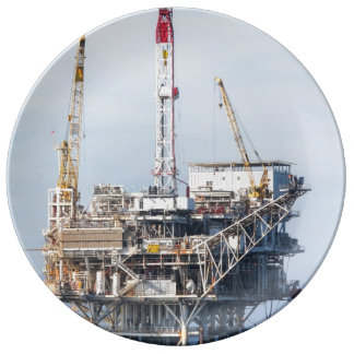 Oil Rig Plate