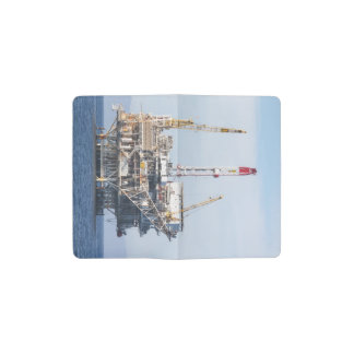 Oil Rig Pocket Moleskine Notebook