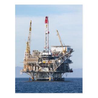 Oil Rig Postcard