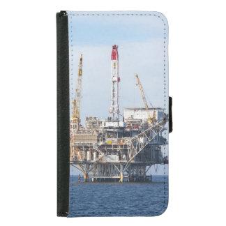 Oil Rig Samsung Galaxy S5 Wallet Case