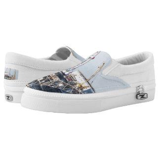 Oil Rig Slip-On Sneakers