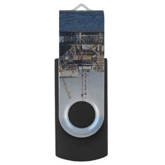 Oil Rig USB Flash Drive