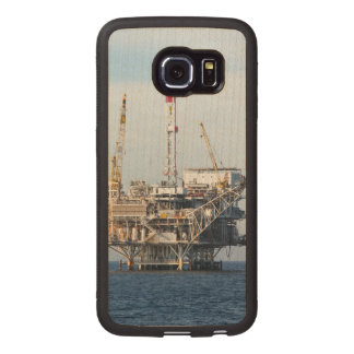 Oil Rig Wood Phone Case