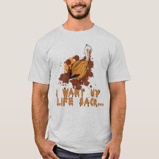 Oil Spill I Want My Life Back Pelican Tshirt
