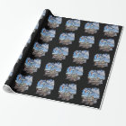 Oil Well Wrapping Paper