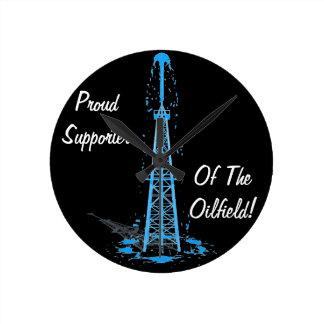 Oilfield Clock