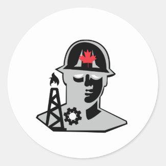 Oilfield Pro Classic Round Sticker