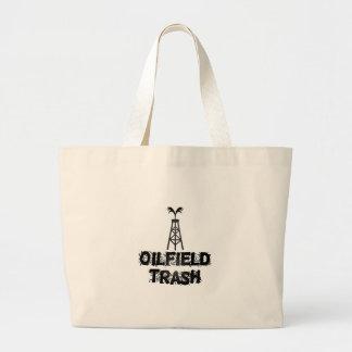 Oilfield Trash Tote Bags