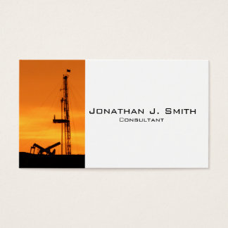 Oilfield Workover Service Rig, Pumping Units Business Card