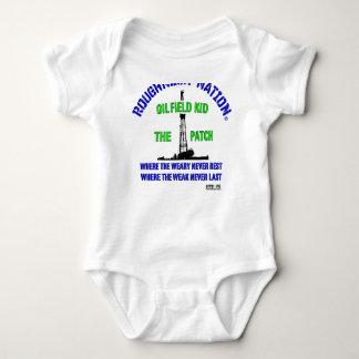 OilIELD KID The Patch Baby Bodysuit