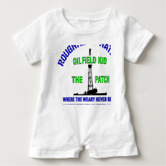OilIELD KID The Patch Baby Romper