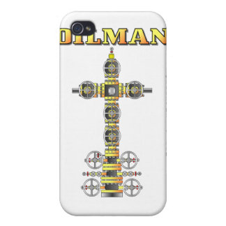 Oilman,Well Services,Wellhead,Speck Case,Oil Cover For iPhone 4