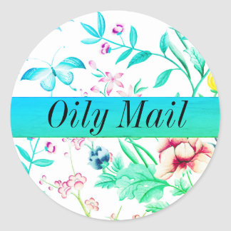 Oily Mail essential oils envelope seal