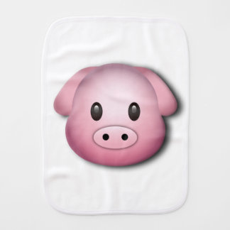 Oink Oink Cute Pig Burp Cloth