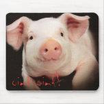 oink oink! mousepad