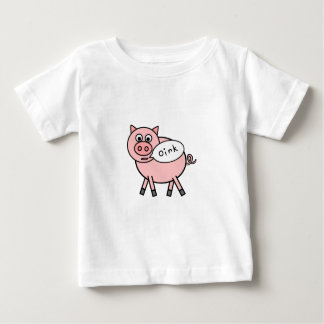 Oink Oink Pig Baby T-Shirt