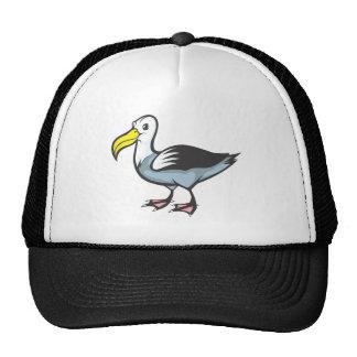 Oiseau d'albatros casquette trucker
