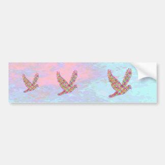 Oiseau d'ANGE - la haute montante est ma nature Autocollant De Voiture