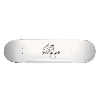 Oiseau de fête d'anniversaire plateau de skateboard