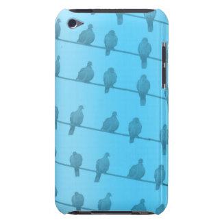 Oiseaux sur le cas de contact d'iPod de fils Coque iPod Touch Case-Mate