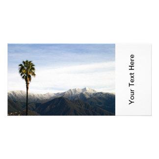 Ojai Palm Photo Card Template