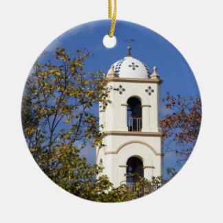 Ojai Post Office Tower Ceramic Ornament