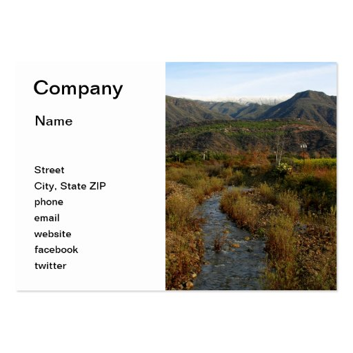 Ojai Valley Business Card Template