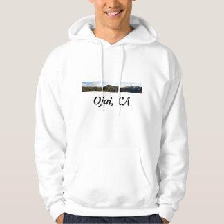 Ojai Valley With Snow Hoodie