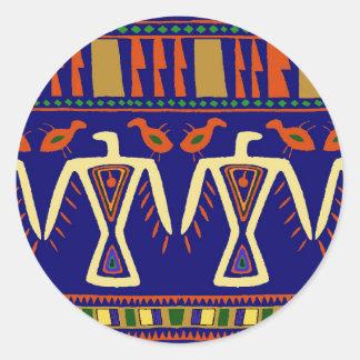 Ojibway Eagles Classic Round Sticker
