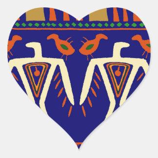 Ojibway Eagles Heart Sticker