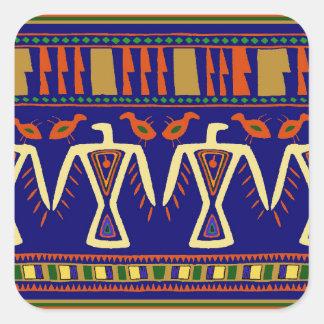 Ojibway Eagles Square Sticker