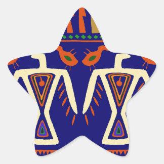 Ojibway Eagles Star Sticker