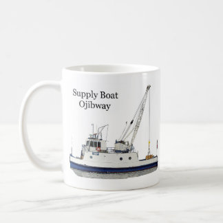 Ojibway supply boat mug