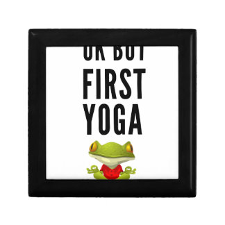 Ok But First Yoga Gift Box