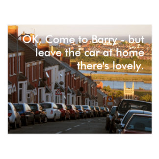 OK, Come to Barry - Postcard