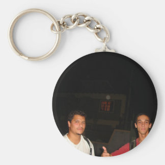 Ok For the security Basic Round Button Keychain