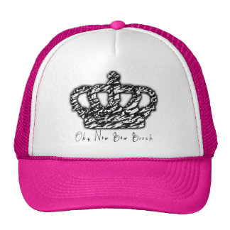 Ok, now bow trucker hat