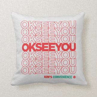 OK SEE YOU - Matthew Fleming Throw Pillow