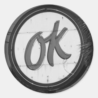 OK Sticker
