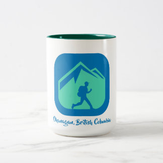 Okanagan, British Columbia coffee mug
