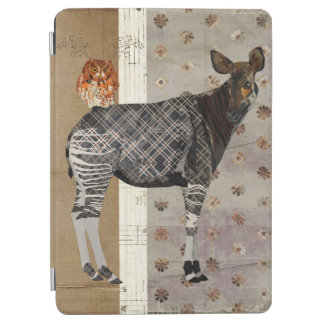 OKAPI & ANTLER OWL  iPad Case iPad Air Cover