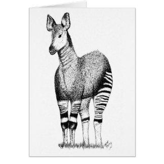 Okapi Art Card