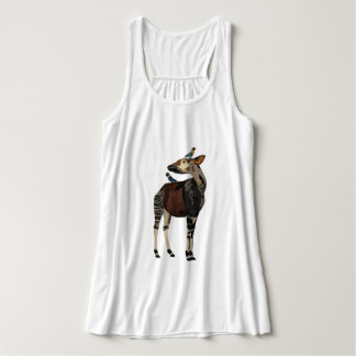 OKAPI & FEATHERS TANK TOP