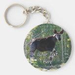 Okapi Keychain