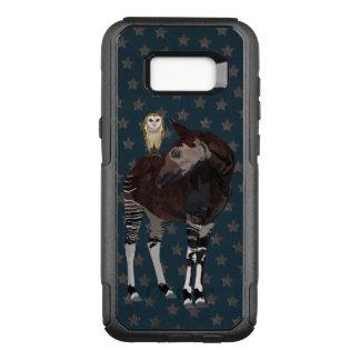 OKAPI & OWL Art OtterBox Commuter Samsung Galaxy S8+ Case