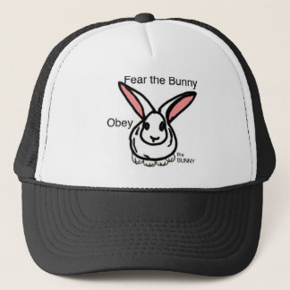 Okay bunny trucker hat