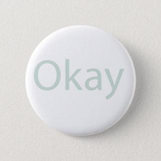 Okay Button Badge