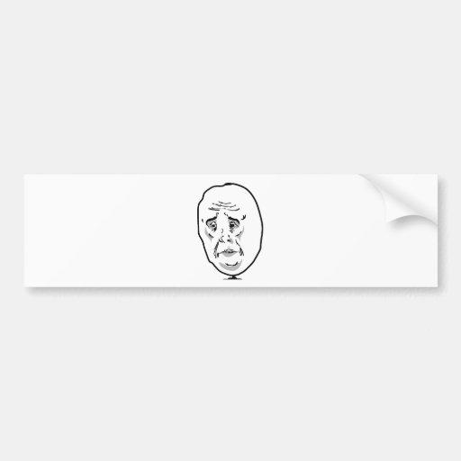 Okay guy bumper sticker