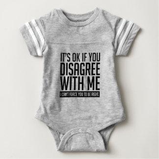 Okay If You Disagree Baby Bodysuit