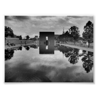 OKC Memorial Reflections Print